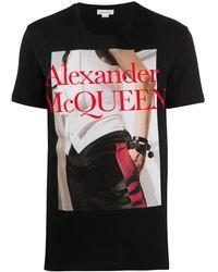 Alexander McQueen Футболка С Фотопринтом - Многоцветный