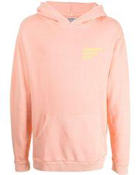 Pasadena Leisure Club Logo-print Cotton Hoodie - Orange