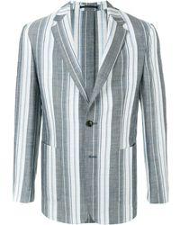Cerruti 1881 Striped Blazer - Blue