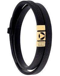 Northskull 'insignia' Bracelet - Zwart
