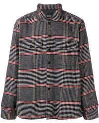 BOSS - Checked Shirt - Lyst