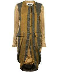 Uma Wang - Asymmetric Striped Shirt Coat - Lyst