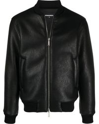 DSquared² Logo Bomber Jacket - Black