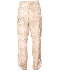 Nicole Miller - Safari Camoflage Trousers - Lyst