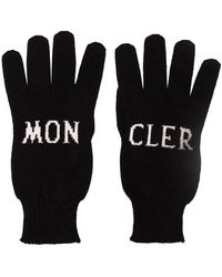 Moncler - Wollen Handschoenen - Lyst