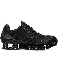 Nike Shox Total Trainers - Black