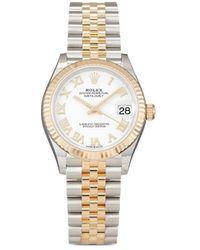 Rolex Orologio Datejust 31mm mai indossato 2021 - Bianco