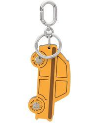 Furla Porte-clés à design voiture - Orange