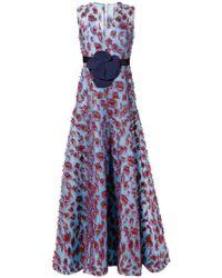 Delpozo - Embellished Evening Dress - Lyst
