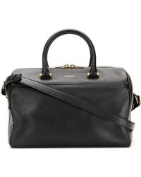Saint Laurent Shoulder Duffle Bag - Black