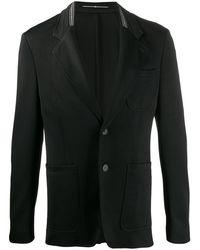 Givenchy Blazer à poches plaquées - Noir