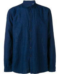 Oliver Spencer Rockwell シャツ - ブルー