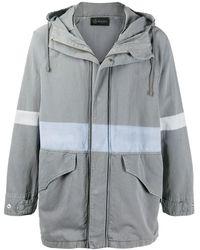 Mr & Mrs Italy Куртка С Капюшоном - Серый