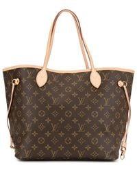 Louis Vuitton ネヴァーフル Mm ハンドバッグ - ブラウン