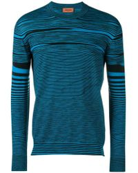 Missoni - Striped Jumper - Lyst