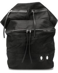 Rick Owens Drkshdw オーバーサイズ ベルトバッグ - ブラック
