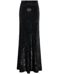 Ashish - Sequinned Maxi Skirt - Lyst