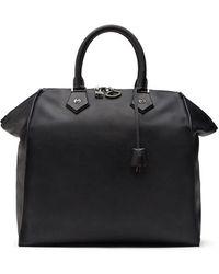 Dolce & Gabbana Сумка-тоут С Тисненым Логотипом - Черный