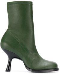 Simon Miller Tee-heel Ankle Boots - Green