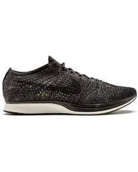 Nike Flyknit Racer Trainers - Black