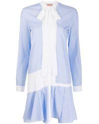 N°21 - ボウタイ シャツドレス - Lyst
