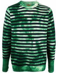 Barena ストライプ セーター - グリーン
