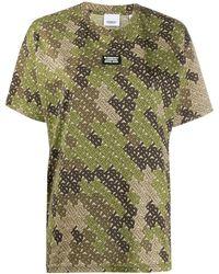 Burberry Carrick T Shirt - Green
