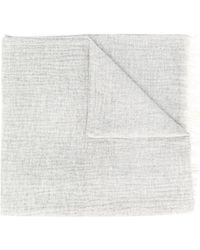 Isabel Marant フリンジ スカーフ - グレー