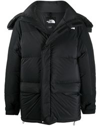 The North Face Chest-logo Padded Coat - Black