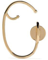Ana Khouri 18kt Yellow Gold Lily Single Right Earring