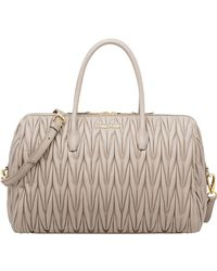 Miu Miu - Avenue Travel Bag - Lyst