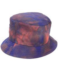PUMA Vissershoed Met Tie-dye Print - Blauw