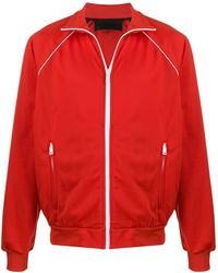 Prada Fleece Jack - Rood
