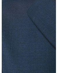 Adam Lippes Notched Lapel Jumpsuit - Blue