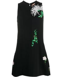 N°21 - Платье-трапеция С Цветочным Принтом - Lyst