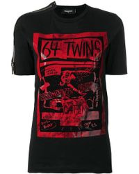 DSquared² - 64 Twins T-shirt - Lyst