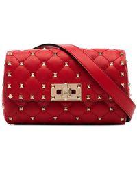 Valentino Valentino Garavani Rockstud Belt Bag - Red