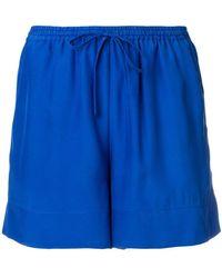 P.A.R.O.S.H. - Drawstring Waist Shorts - Lyst
