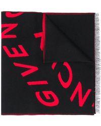 Givenchy - ロゴ フレイド スカーフ - Lyst