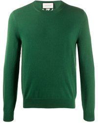 Gucci Джемпер С Вышитым Логотипом GG - Зеленый