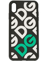 Dolce & Gabbana Iphone Xs Max Phone Case - Black