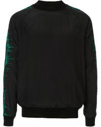 Haider Ackermann Sophora スウェットシャツ - ブラック