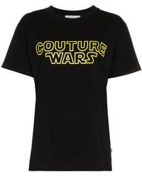 Moschino - Couture Wars Logo Cotton T Shirt - Lyst