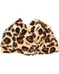 Gucci - Leopard Print Turban - Lyst