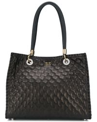 Ermanno Scervino - Quilted Effect Tote Bag - Lyst