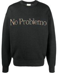 Aries No Problemo スウェットシャツ - ブラック