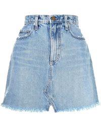 Nobody Denim Minijupe Piper en jean - Bleu