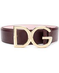 Dolce & Gabbana - バックルベルト - Lyst