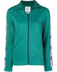 Zoe Karssen Zip Front Sports Jacket - グリーン