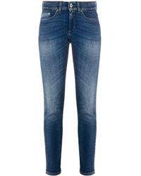 Dondup Monroe Slim-fit Jeans - Blue